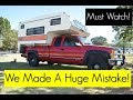 Watch This Before Buying A Truck Camper!
