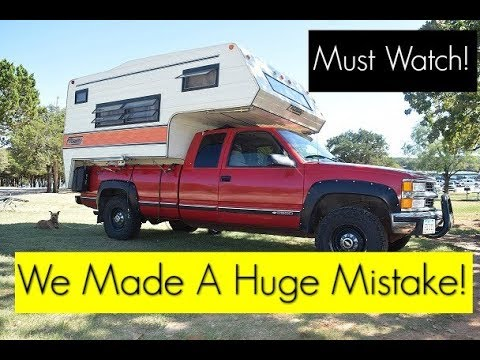 Watch This Before Buying A Truck Camper