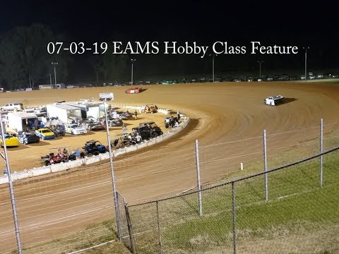 EAMS | East Alabama Motor Speedway | Hobby Car Feature July 3, 2019