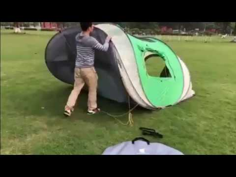 Large Pop Up Tent-How to Take Down Geertop 4-6 Person Pop Up Tent & Large Pop Up Tent-How to Take Down Geertop 4-6 Person Pop Up Tent ...