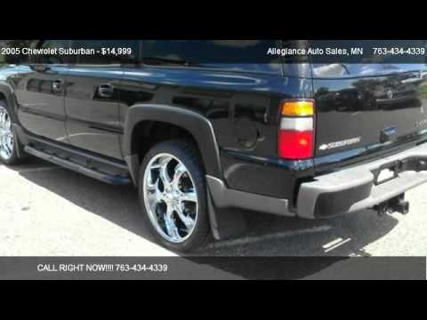 2005 chevrolet suburban 1500 z71 for sale in ham lake mn 55304 youtube. Black Bedroom Furniture Sets. Home Design Ideas