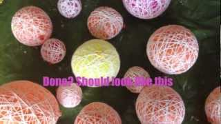 DIT Yarn or Wool Balls
