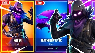 *RAVEN SKIN* Fortnite ITEM SHOP RESET! (July 10TH) NEW ITEMS & MORE!