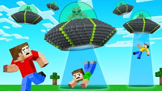 Our MINECRAFT WORLD Was ATTACKED BY ALIENS! (Minecraft)
