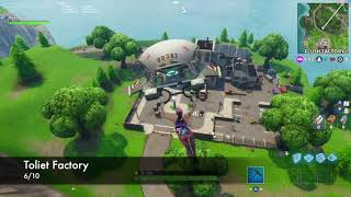 ALL 10 BIRTHDAY CAKE LOCATIONS! Fortnite (Dance in Front of 10 Birthday Cakes Challenge)