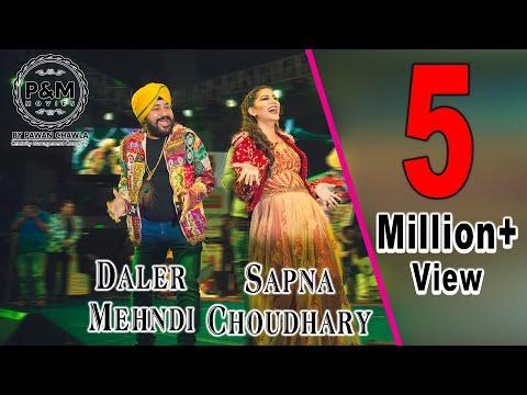 Daler Mehndi dancing with Sapna Choudhary on Teri Aakhya ka Yo Kajal | Never seen before