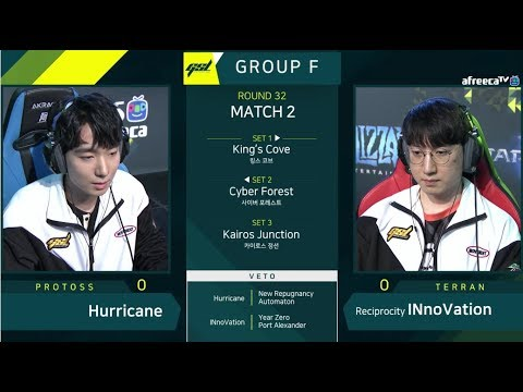 [2019 GSL S1] Ro.32 Group F Match2 Hurricane vs INnoVation