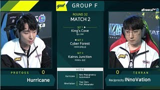 [2019 GSL S1] Ro.32 Group F Match2 Hurricane vs INnoVation