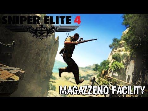Sniper Elite 4 | Magazzeno Facility | #6 LIVE!!