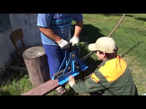 Трубогиб Blacksmith MTB10-40 (ручной) в действии