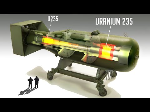 Wie Atom - und Wasserstoffbomben in 10 Minuten funktionieren