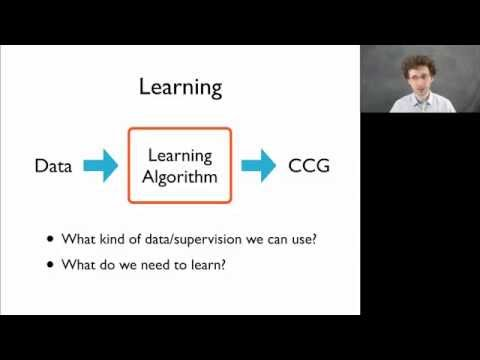 Semantic Parsing with CCGs (Section 4): Learning