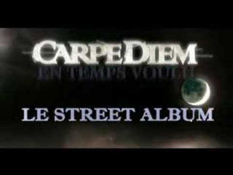 carpe diem annonce sortie street album