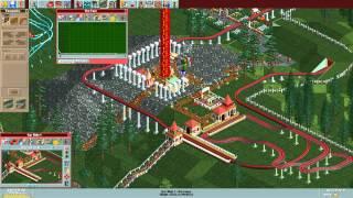 RollerCoaster Tycoon Deluxe - Evergreen Gardens [HD] (Hasbro Interactive) (1999/2002)