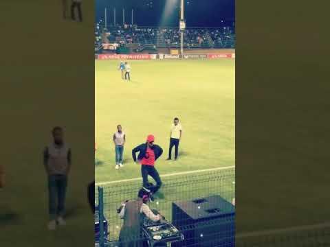 Dom Wilson in South Africa - bidvest stadium