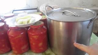 Простой РЕЦЕПТ Заготовки ЛЕЧО на Зиму (Tomatoes. Pepper)(, 2014-08-23T07:00:35.000Z)