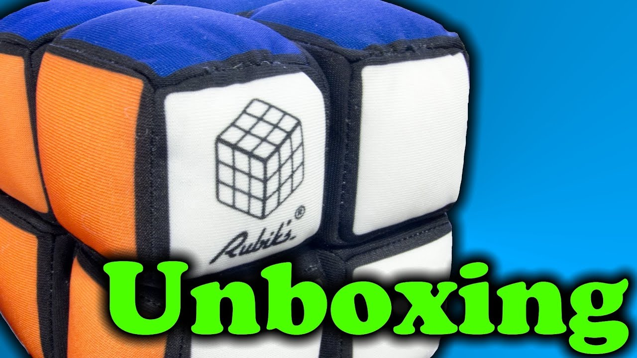 rubik s soft cube 2x2 unboxing