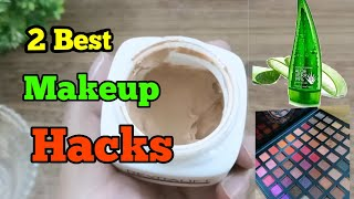2 Best ALOE VERA GEL Makeup #Hacks  Every Girl Should Try  Beauty Hack  Aloe Vera Gel Beauty Tips