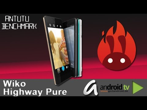 Wiko Highway Pure AnTuTu Benchmarktest - by android tv