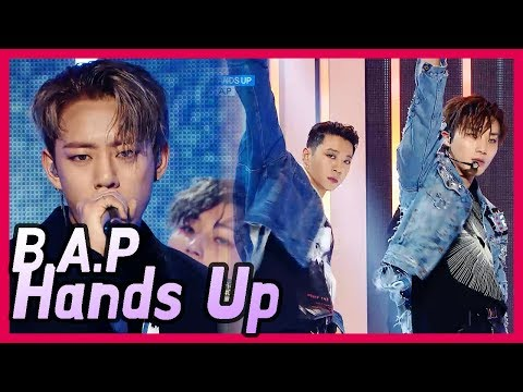 [Comeback Stage] B.A.P - HANDS UP, 비에이피 - 핸즈업 20171216