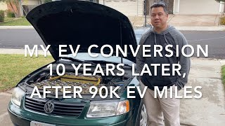My EV conversion after 10 years and 90k miles