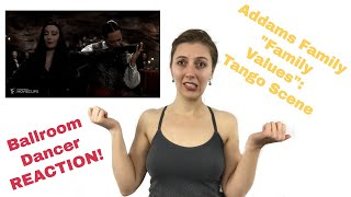 Addams Family Values Tango - Pro Dancer Reaction! | Dance Curious