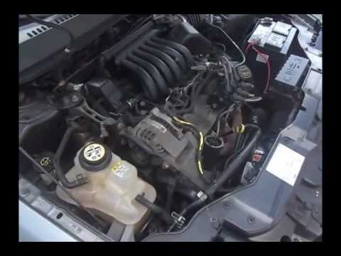 2003 Ford Taurus SE - Coolant Pressure Tank Issue - YouTube