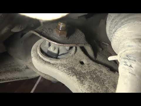 Тойота Камри 30 Замена Передних Рычагов