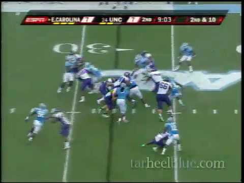 UNC Football highlights vs ECU