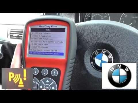 BMW PDC Fault Diagnose & Reset Parking Sensor Warning Light Dash Lamp
