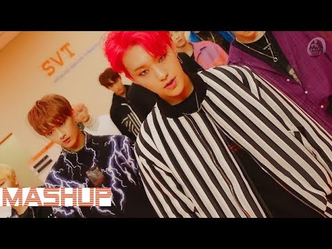BTS (방탄소년단) & SEVENTEEN (세븐틴) - CLAP(박수) x War Of Hormone ( MASHUP ♪ )