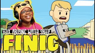 Felix abusing water sheep PewDiePie Animated by Finic | Animation Reaction