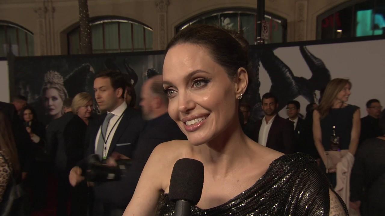 Maleficent Mistress Of Evil 2019 World Premiere Soundbites Angelina Jolie