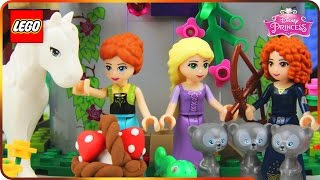 ♥ LEGO Disney Princess Rapunzel STORY OF LOVE & PAINT (Creativity Tower, Charity Day...)