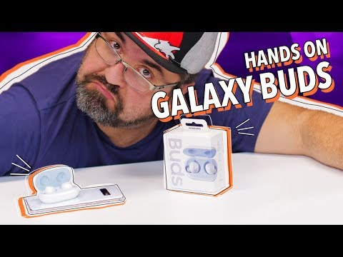 SAMSUNG GALAXY BUDS: UNBOXING E HANDS ON!