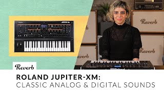 Roland Jupiter-XM: Classic Analog & Digital Sounds in a Compact Format | Reverb