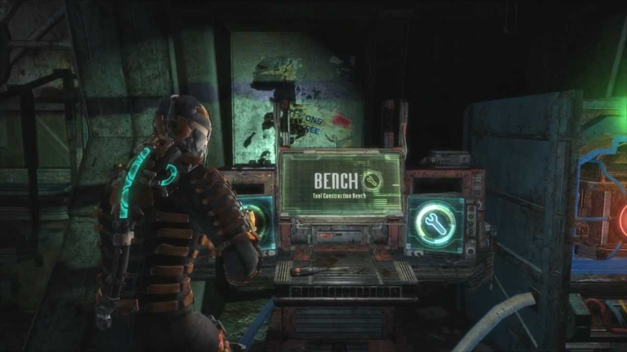 Dead space 3 all blueprints weapons youtube malvernweather Choice Image