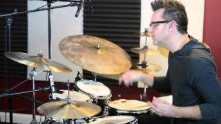 """""""Ostinato Challenge"""" Track from Jim Riley's book, """"Survival Guide for the Modern Drummer"""""""