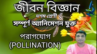 POLLINATION IN FLOWERING PLANTS FULL ANIMATION FOR CLASS 10Th