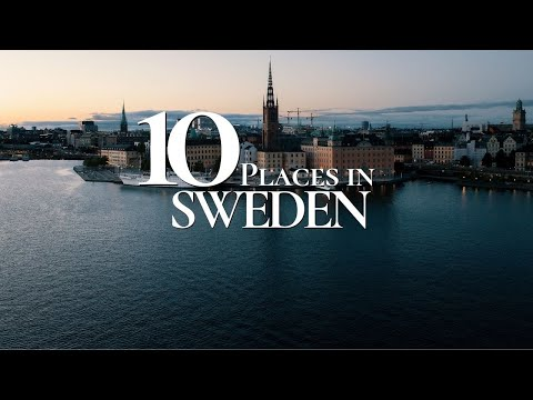 10 Beautiful Places to Visit in Sweden  🇸🇪    Sweden Travel Guide