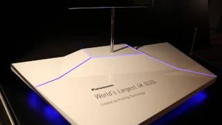 Panasonic Convention 2013 - World's Largest 4K OLED TV