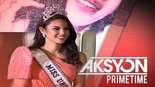 Miss Universe 2018 Catriona Gray, sumabak sa unang homecoming presscon