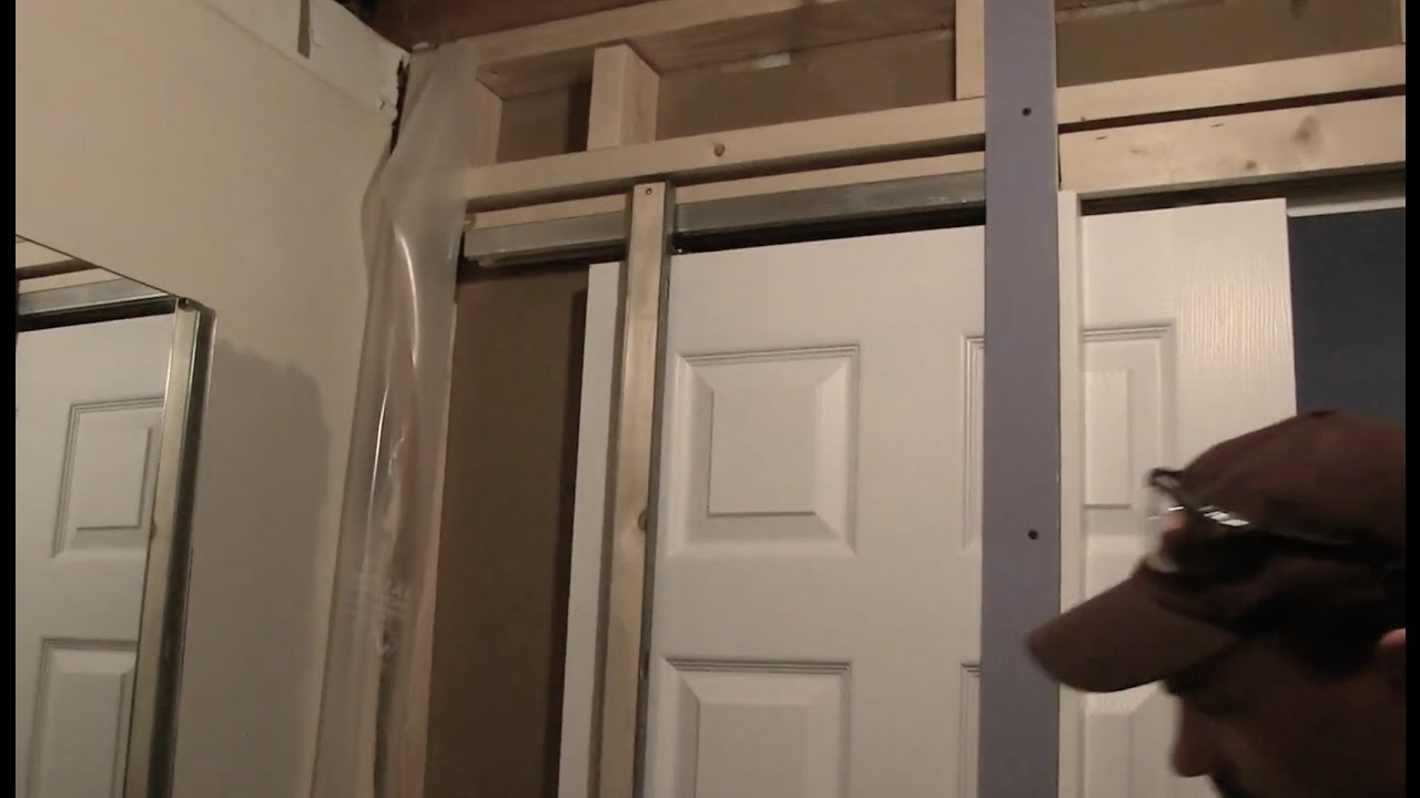 How To Install A Pocket Door & How To Install A Pocket Door - YouTube