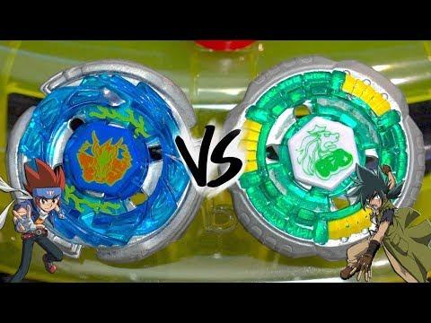 ORIGINS BATTLE: Storm Pegasus 105RF VS Rock Leone 145WB - Beyblade Metal Fight/Fusion!