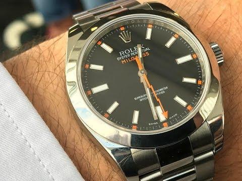 BEST ROLEX FOR A DOCTOR - Rolex Milgauss ? First Nice Wrist Watch