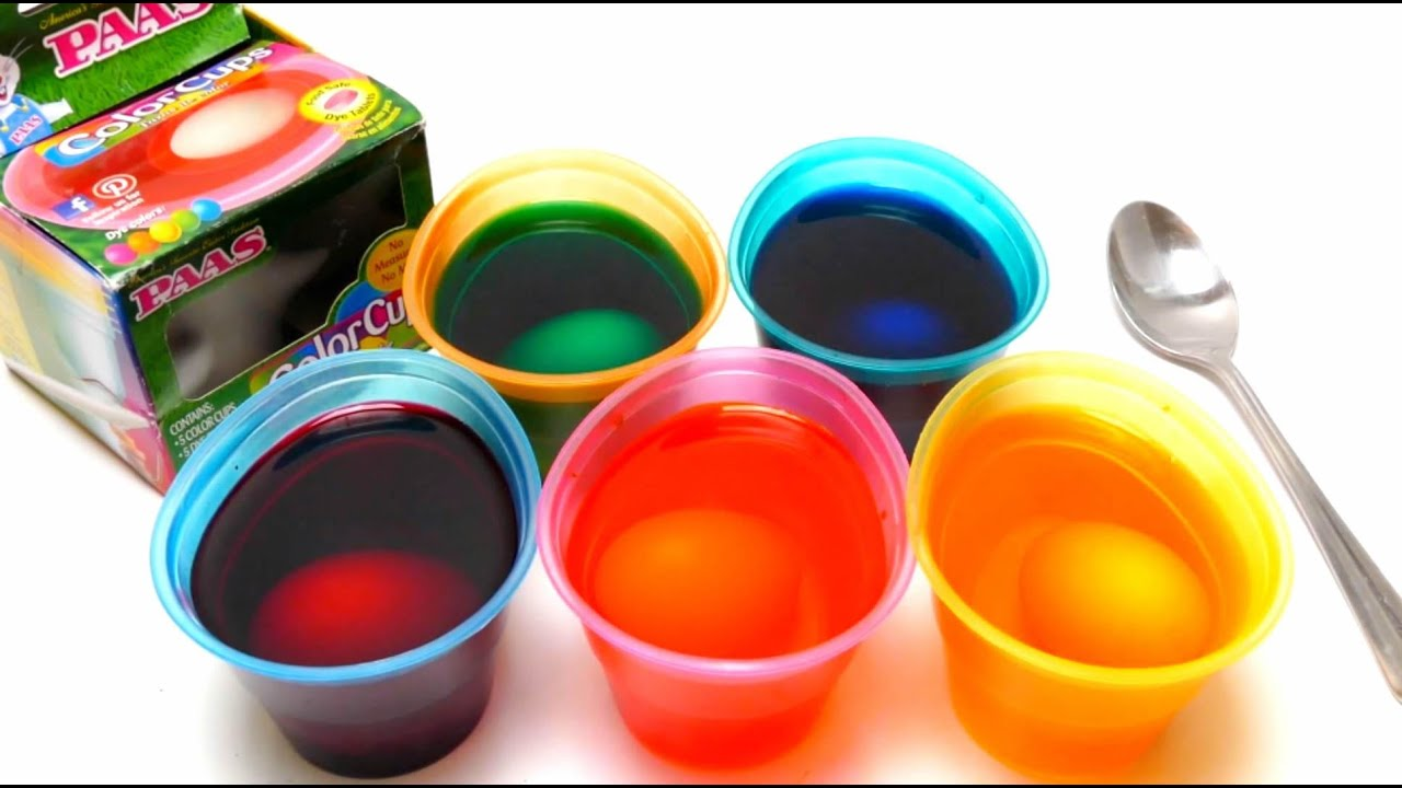 Paas Easter Egg Diy Coloring With Paas Color Cups Doovi