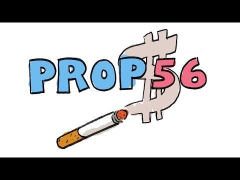 Props in a Minute: Prop 56 -  Cigarette Tax