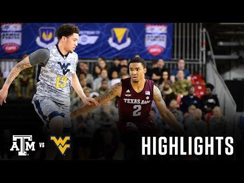 Men's Basketball: Highlights | A&M 88, WVU 65