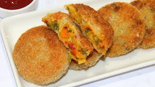 এতটা মচমচে কাবাব আর কখনই খায় নাই তাও আবার মিক্স ভেজিটেবল দিয়ে তৈরি:Kabab-A Mix Nasta Recipe