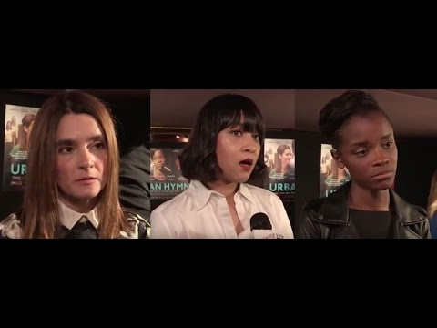 Urban Hymn - Interviews - Shirley Henderson, Letitia Wright, Isabella Laughland, Michael Caton-Jones